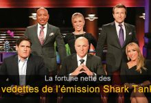 Photo of Quelle est la fortune nette des vedettes de l'émission Shark Tank?