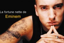 Photo of La fortune nette d'Eminem