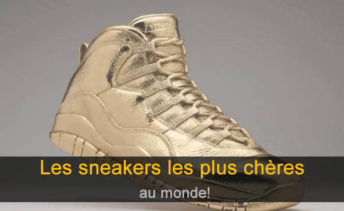 Photo de Les 21 sneakers les plus chères au monde